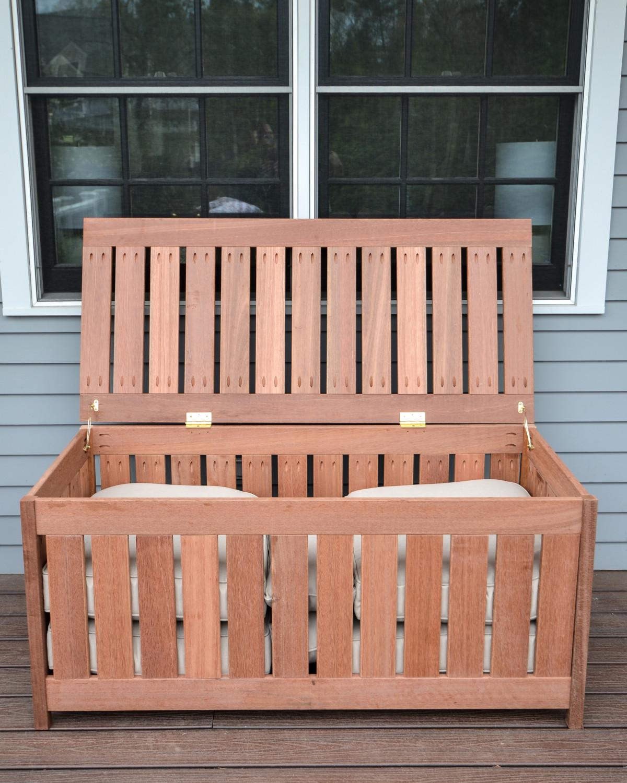 Best ideas about DIY Outdoor Storage Box . Save or Pin DIY Outdoor Storage Box The Chronicles of Home Now.