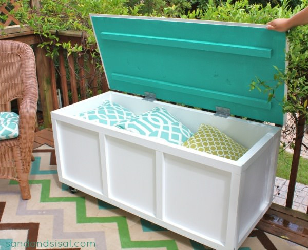 Best ideas about DIY Outdoor Storage Box . Save or Pin DIY Outdoor Storage Benches Now.