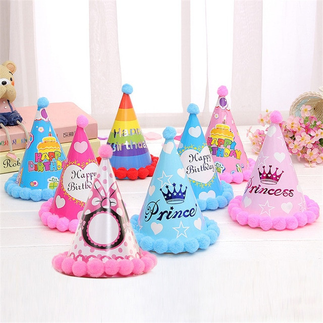 Best ideas about DIY Party Hats For Adults . Save or Pin New Arrival Happy Birthday Party Hats DIY Cute Handmade Now.