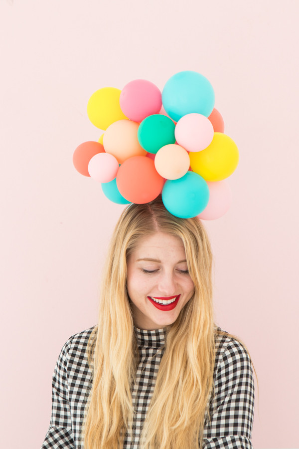 Best ideas about DIY Party Hats For Adults . Save or Pin Balloon Hat DIY Now.