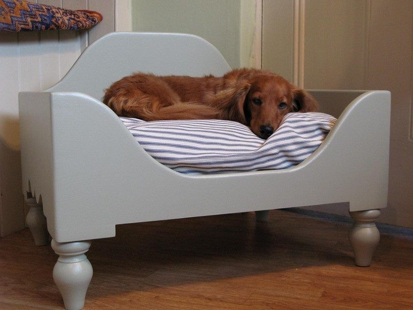 Best ideas about DIY Raised Dog Bed . Save or Pin DIY Dog Bed Project How to Make a Homemade Dog Bed Now.