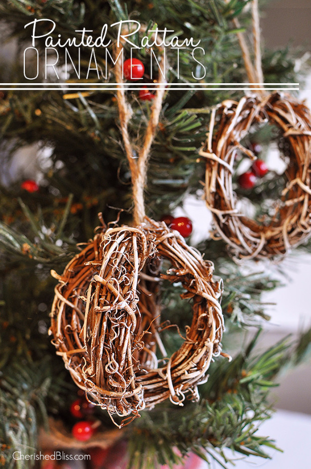 Best ideas about DIY Rustic Christmas Ornaments . Save or Pin 33 Best DIY Ornaments for Your Tree Now.