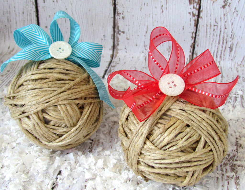 Best ideas about DIY Rustic Christmas Ornaments . Save or Pin Rustic Christmas Ornaments with Glitter Buttons Now.