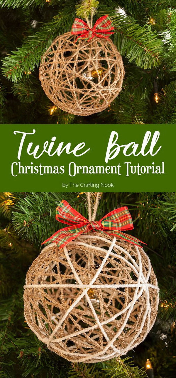 Best ideas about DIY Rustic Christmas Ornaments . Save or Pin 30 Amazing DIY Rustic Christmas Decoration Ideas Now.