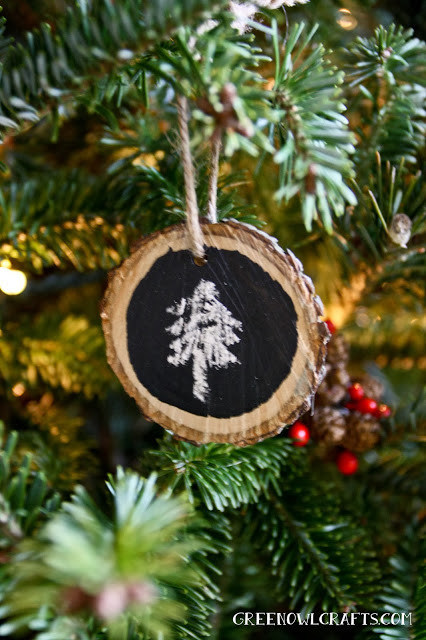 Best ideas about DIY Rustic Christmas Ornaments . Save or Pin DIY Rustic Christmas Ornaments The Girl Creative Now.