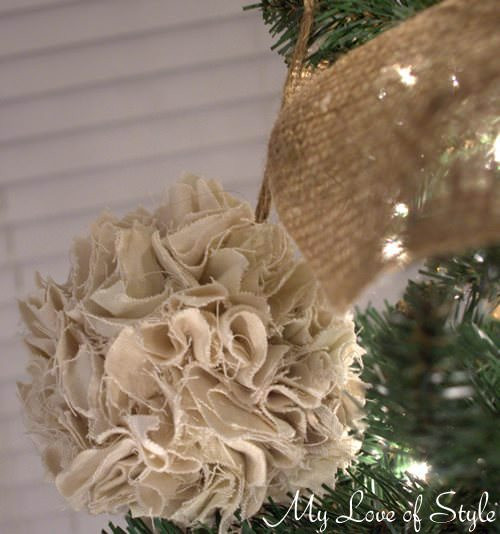 Best ideas about DIY Rustic Christmas Ornaments . Save or Pin Easy DIY Rustic Pom Christmas Ornament Tip Junkie Now.