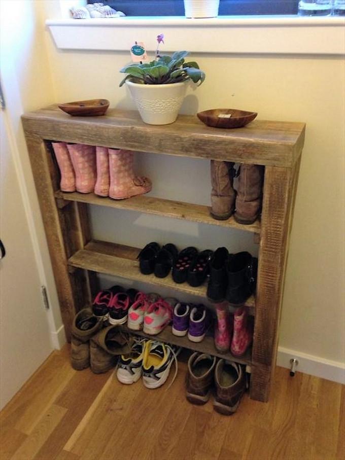 Best ideas about DIY Shoes Rack Ideas . Save or Pin Unique and Elegant DIY Pallet Project Ideas Now.