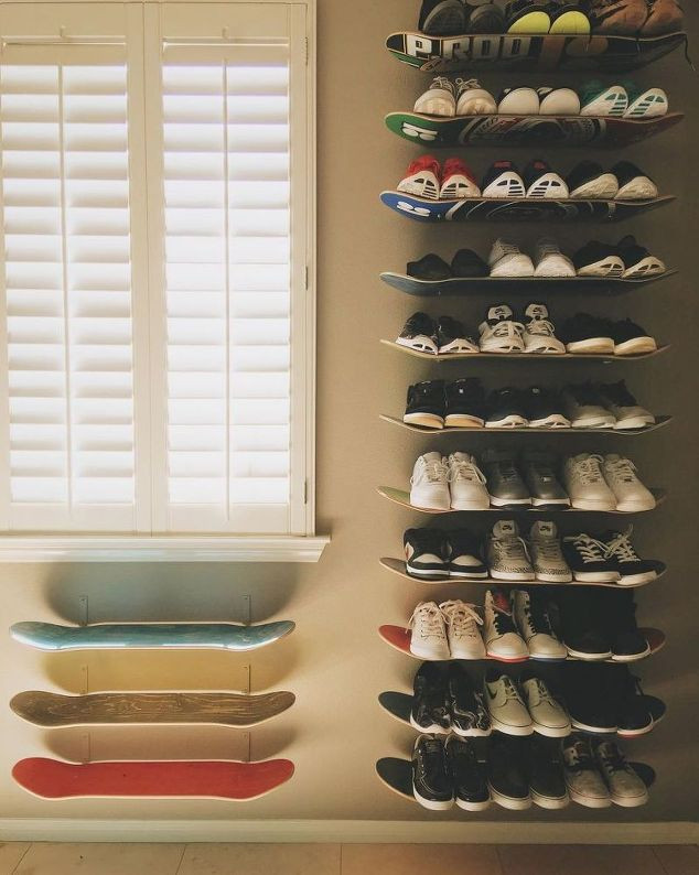Best ideas about DIY Shoes Rack Ideas . Save or Pin 37 Space Saving Shoe Storage Ideas Homelovr Now.