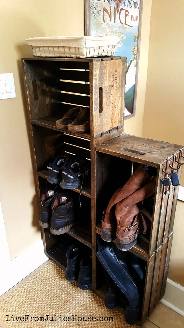 Best ideas about DIY Shoes Rack Ideas . Save or Pin 15 Clever DIY Shoe Storage Ideas Grillo Designs Now.