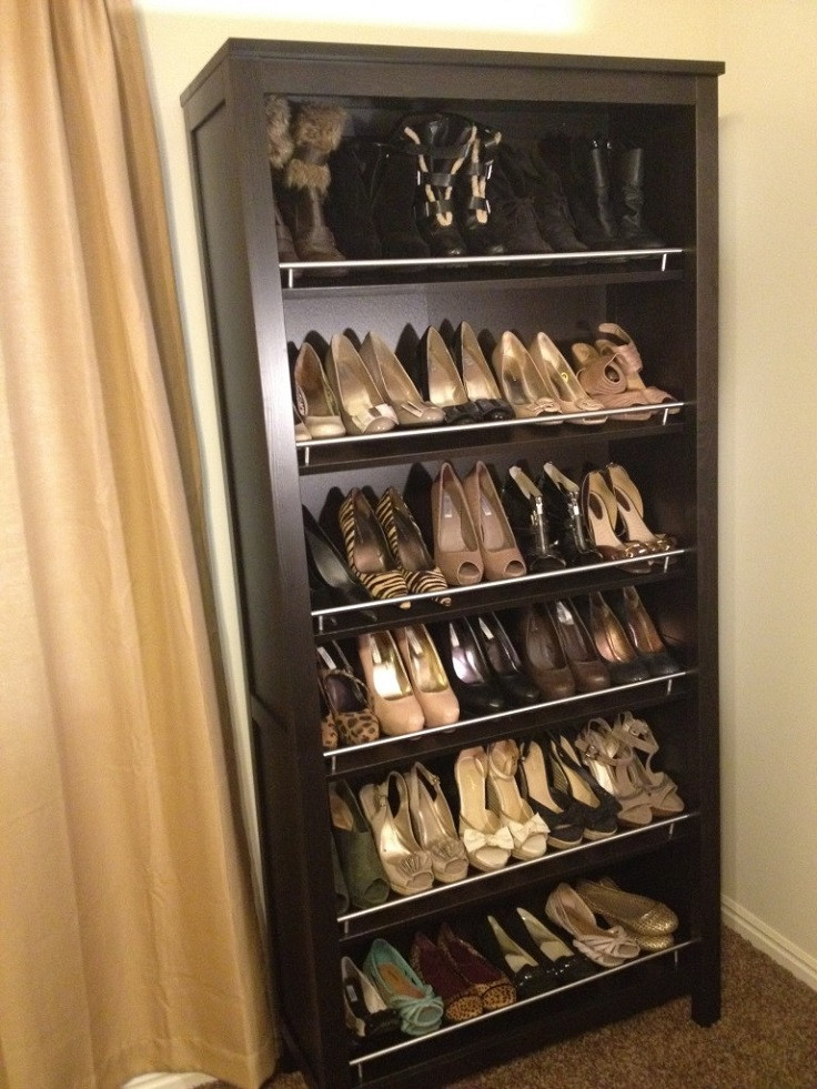 Best ideas about DIY Shoes Rack Ideas . Save or Pin Top 10 Useful DIY Shoe Storages Now.