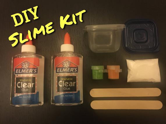 Best ideas about DIY Slime Kit . Save or Pin DIY Slime Kit with activator Kids Craft from Now.