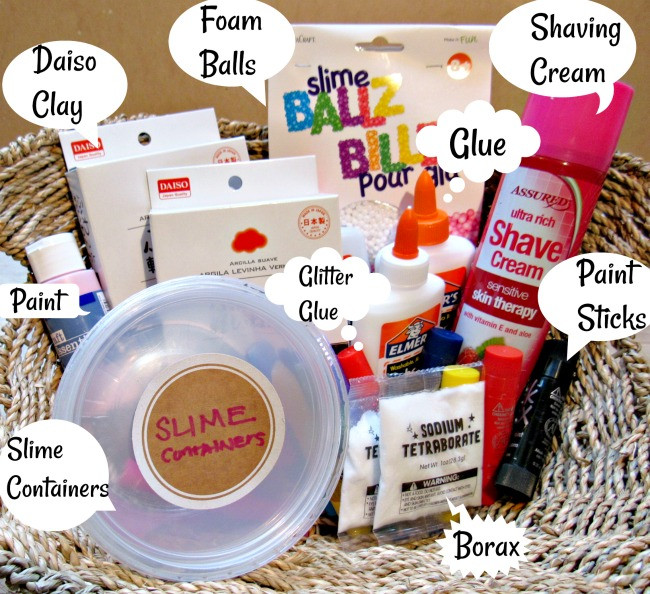 Best ideas about DIY Slime Kit . Save or Pin Slime Kits Gift Baskets Parents Everything Your Kids Now.