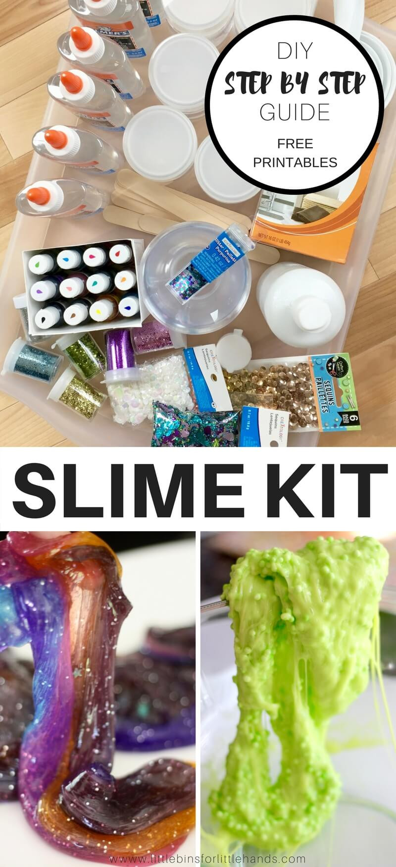 Best ideas about DIY Slime Kit . Save or Pin Make Homemade Slime Kit for Kids Science Activities Now.