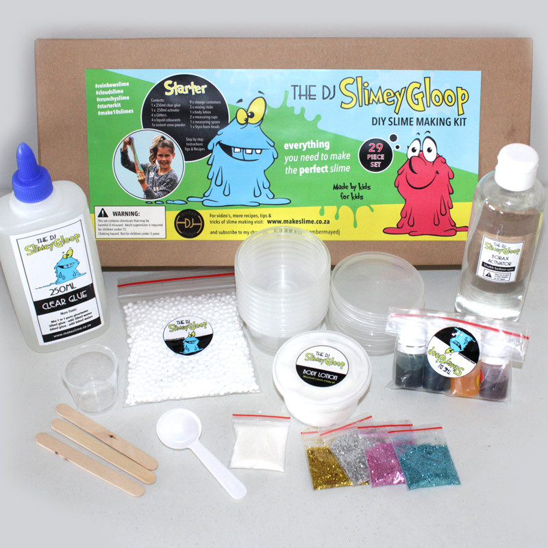 Best ideas about DIY Slime Kit . Save or Pin Starter DIY slime making kit online south africa shipping Now.