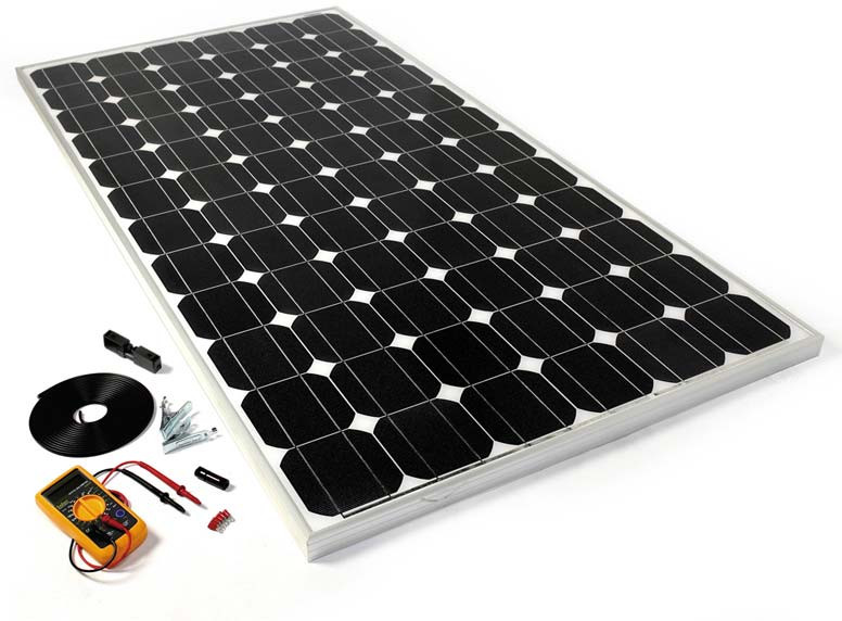 Best ideas about DIY Solar Panels Kit . Save or Pin DIY Solar Panel Kit 150W Now.