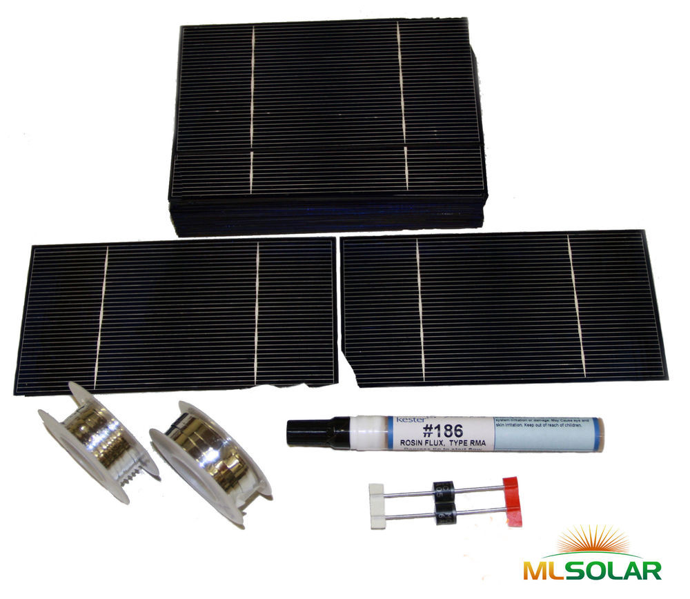 Best ideas about DIY Solar Panels Kit . Save or Pin 250g 3x6 Solar Cell Kit for DIY Solar Panel Whole Now.
