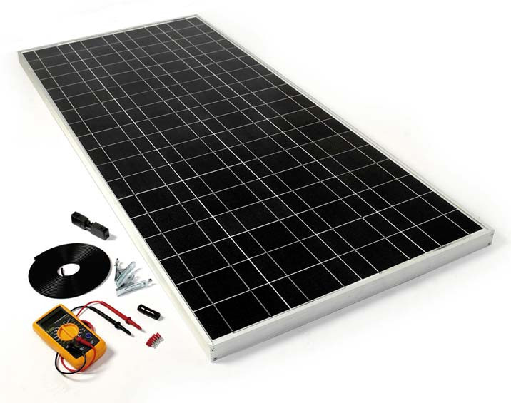 Best ideas about DIY Solar Panels Kit . Save or Pin DIY Solar Panel Kit 120W Now.