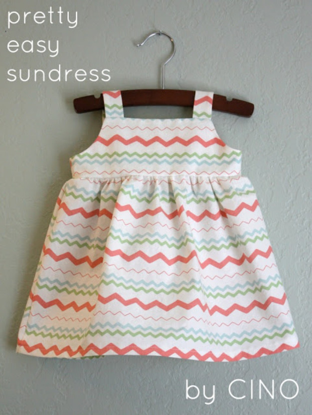 Best ideas about DIY Toddler Dress . Save or Pin 36 Best DIY Gifts To Make For Baby Now.