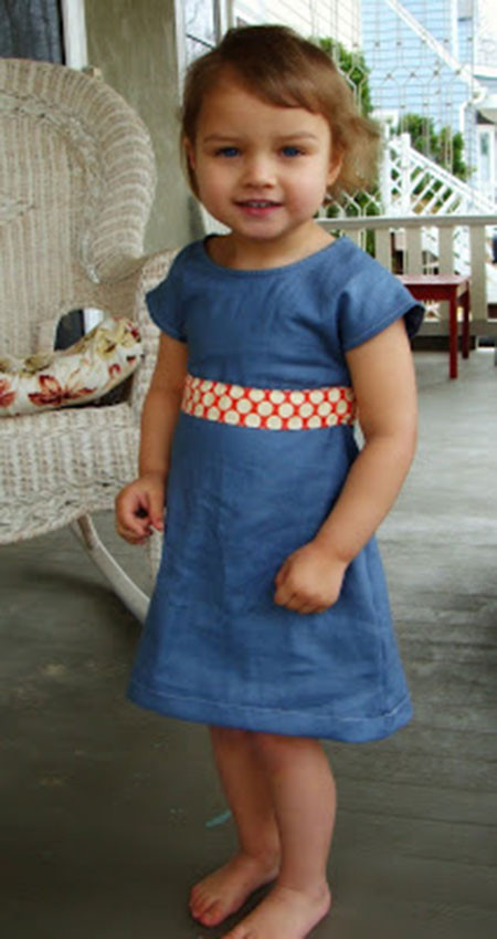 Best ideas about DIY Toddler Dress . Save or Pin DIY T Shirt Toddler Dress Day 30 • InterestingFor Me Now.