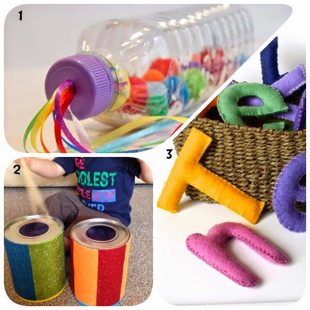 Best ideas about DIY Toddler Toy . Save or Pin Learn with Play at Home 8 Homemade toys for Babies Now.