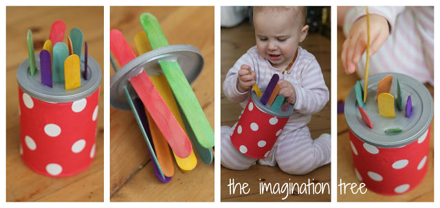 Best ideas about DIY Toddler Toy . Save or Pin 4 DIY Baby and Toddler Toys for Motor Skills The Now.