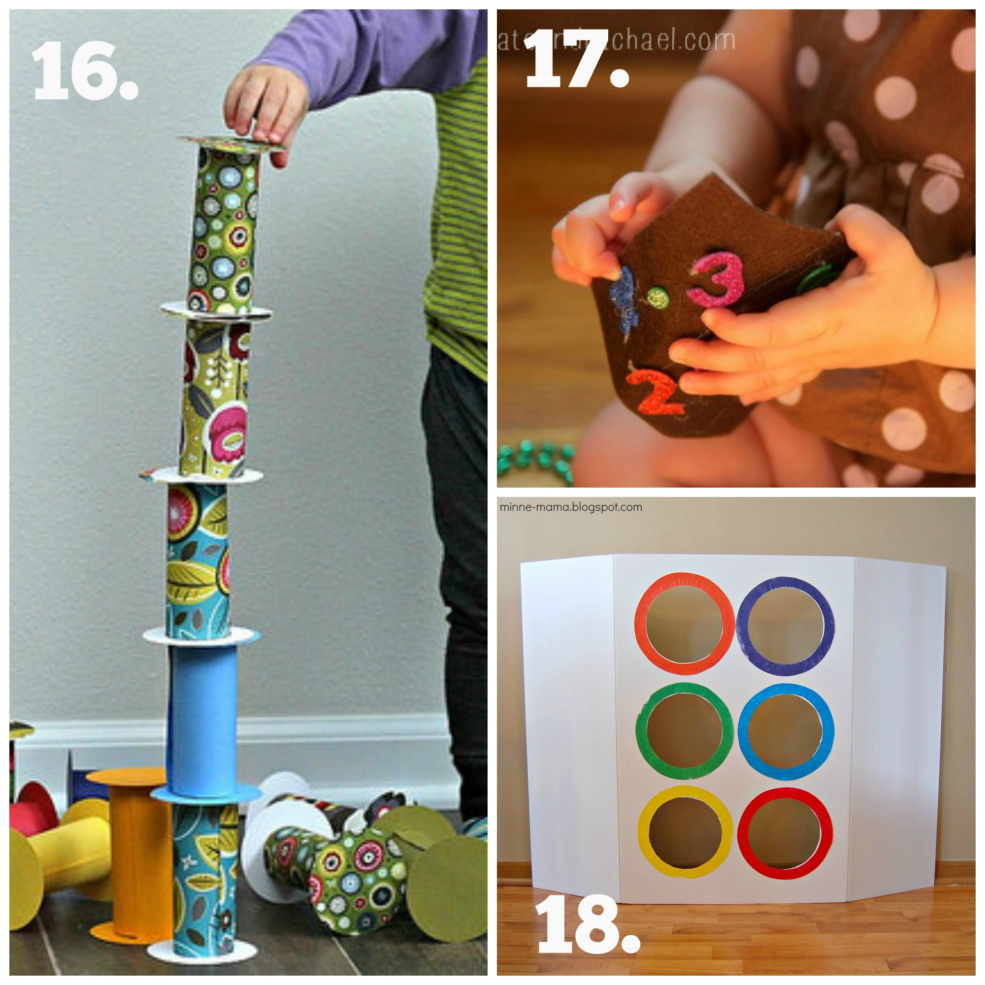 Best ideas about DIY Toddler Toy . Save or Pin Recycled Play Series DIY Baby & Toddler Toys The Now.