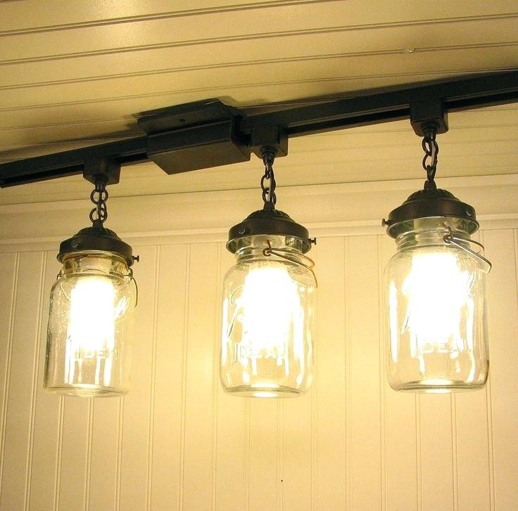 Best ideas about DIY Track Lighting . Save or Pin Diy Track Lighting Pendants Awesome Brass Light Fixtures A Now.