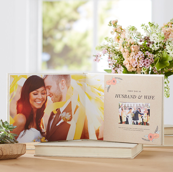 Best ideas about DIY Wedding Album . Save or Pin Tell Your Love Story with Shutterfly Wedding Books Now.