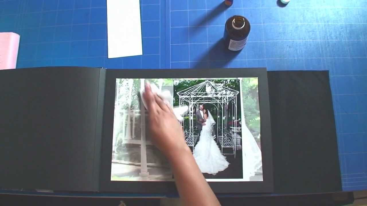Best ideas about DIY Wedding Album . Save or Pin How to assemble a wedding album DIY or Slip in style Now.