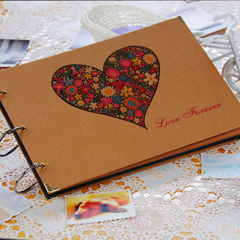 Best ideas about DIY Wedding Album . Save or Pin 2018 New Heart 10 Inch DIY Album by Hand to Now.