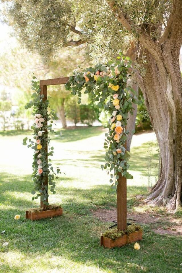 Best ideas about DIY Wedding Arbor . Save or Pin 25 Chic And Easy Rustic Wedding Arch Ideas For DIY Brides Now.
