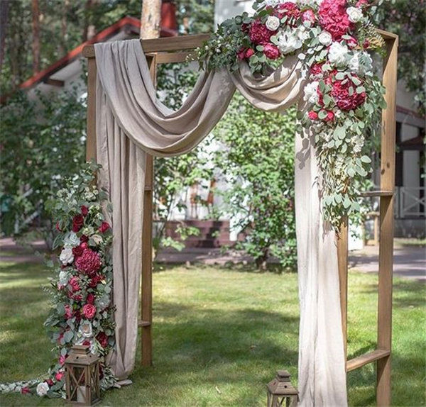 Best ideas about DIY Wedding Arbor . Save or Pin 20 DIY Floral Wedding Arch Decoration Ideas Now.