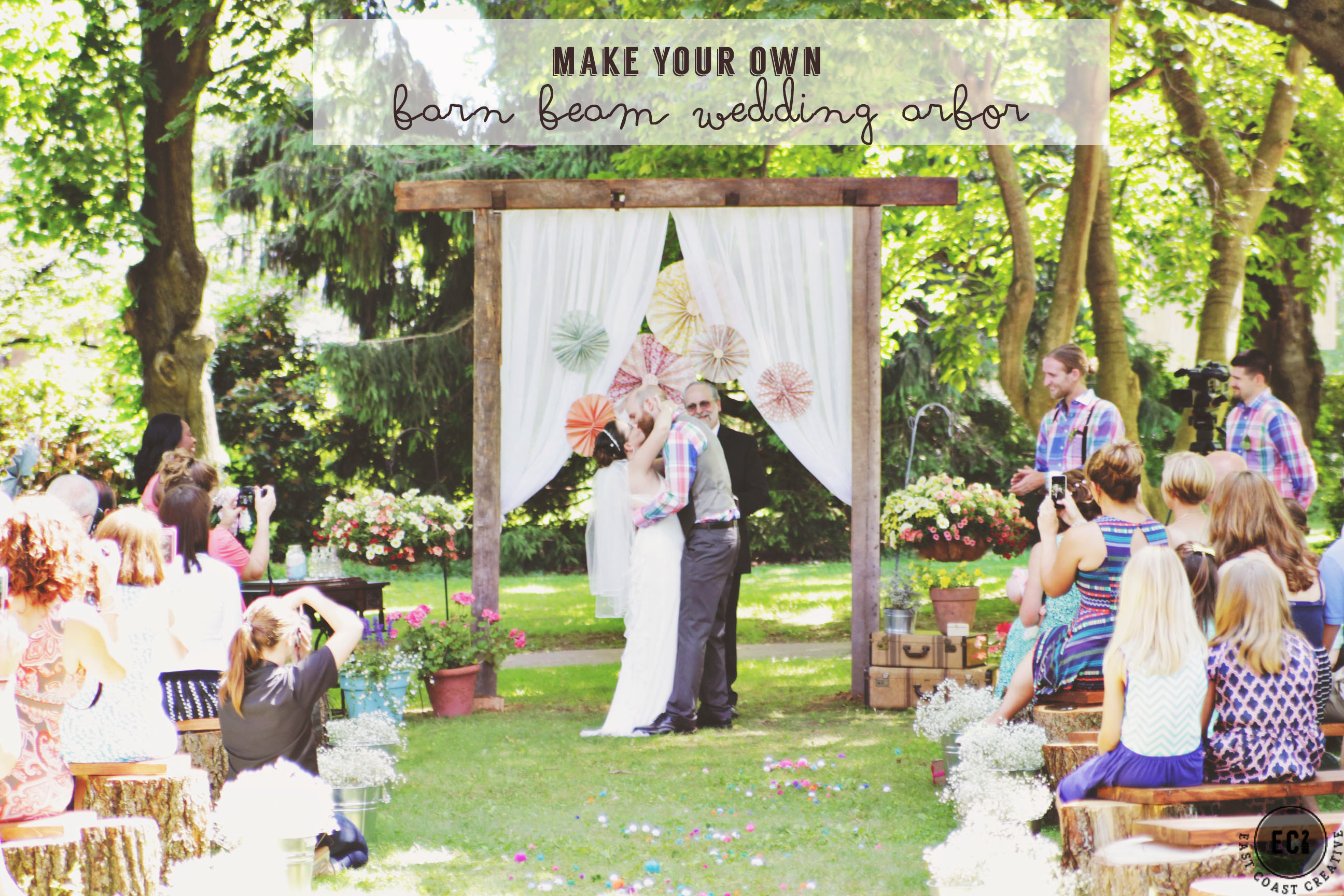 Best ideas about DIY Wedding Arbor . Save or Pin DIY Wedding Tips on a Bud Vintage Inspired Backyard Now.