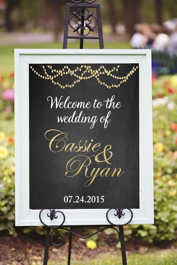 Best ideas about DIY Wedding Welcome Sign . Save or Pin Printable wel e wedding sign DIY Printable Wel e to the Now.
