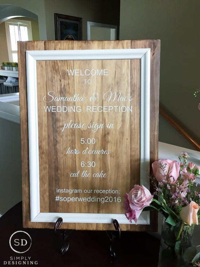 Best ideas about DIY Wedding Welcome Sign . Save or Pin Wedding Reception DIY Wedding Signs Now.