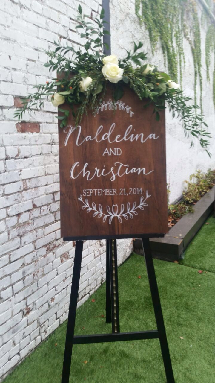 Best ideas about DIY Wedding Welcome Sign . Save or Pin 50 Awesome Wedding Signs You ll Love Now.