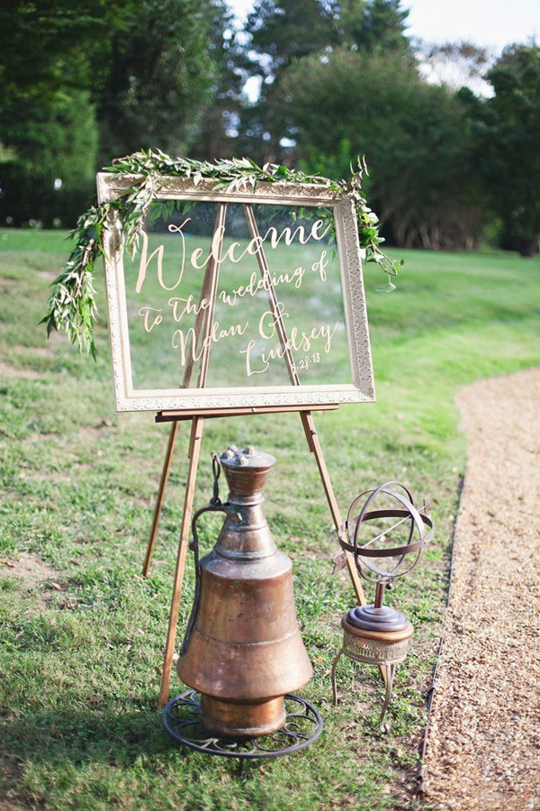 Best ideas about DIY Wedding Welcome Sign . Save or Pin 5 Original & Stress free DIY Wedding Ideas including Now.