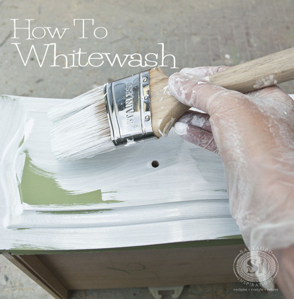 Best ideas about DIY Whitewash Wood . Save or Pin How To Whitewash Wood Furniture Salvaged Inspirations Now.