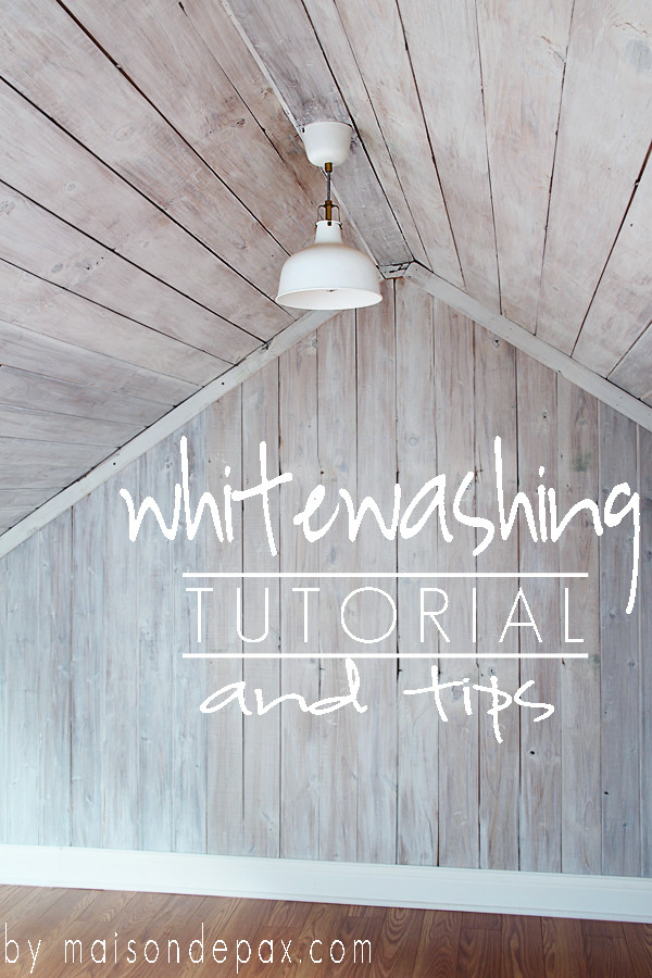 Best ideas about DIY Whitewash Wood . Save or Pin How to Whitewash Wood Maison de Pax Now.