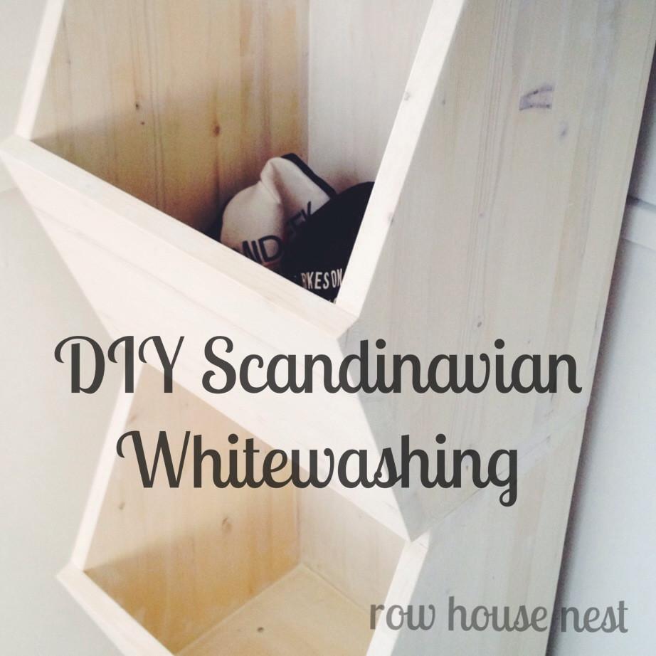 Best ideas about DIY Whitewash Wood . Save or Pin DIY Scandinavian Whitewashed Wood Now.