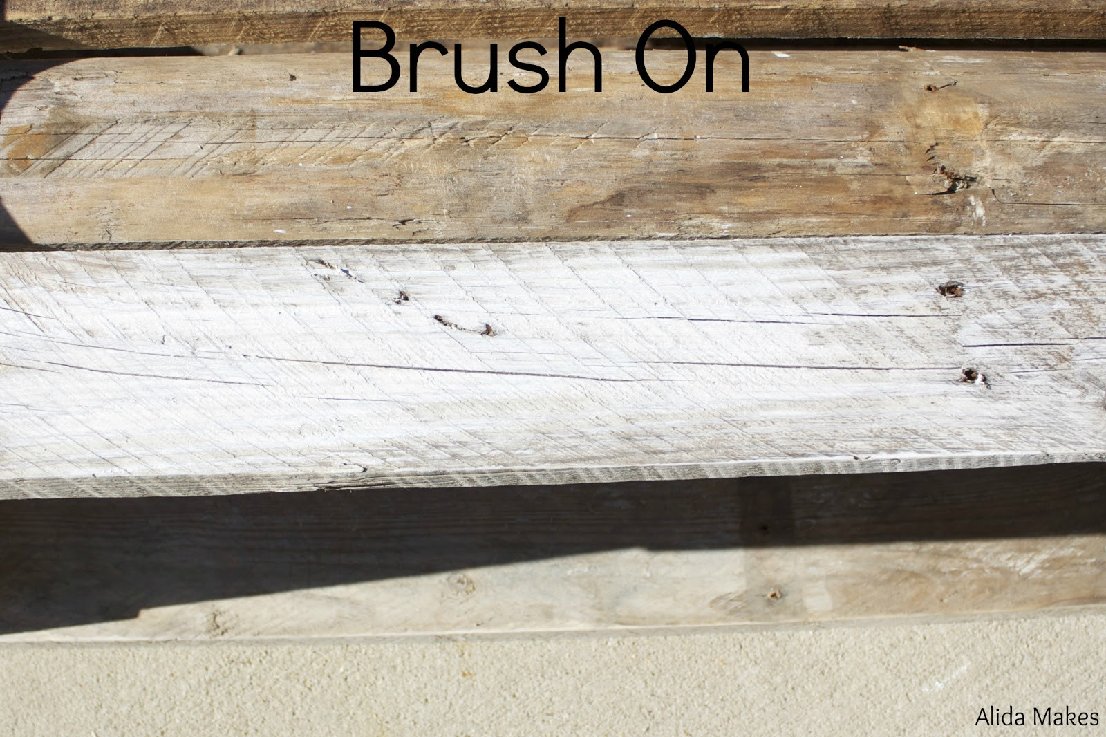 Best ideas about DIY Whitewash Wood . Save or Pin diy pallet coffe table with white wash paint instructions Now.