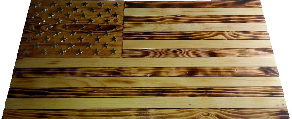 Best ideas about DIY Wood American Flag . Save or Pin 30 Brilliant Diy Wood Burned American Flag Now.