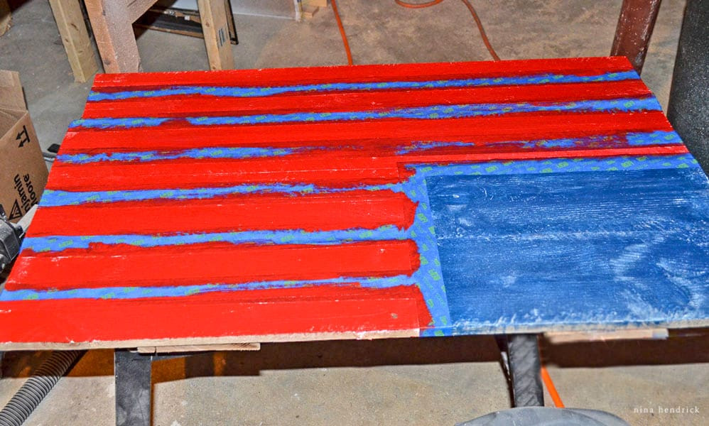 Best ideas about DIY Wood American Flag . Save or Pin DIY Rustic Pallet Wood American Flag Tutorial Now.