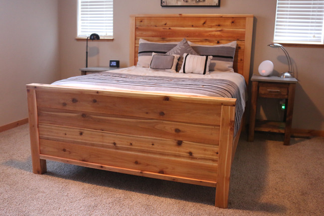 Best ideas about DIY Wood Bed . Save or Pin DIY Bed Frame Plans How to Make a bed frame with DIY Pete Now.