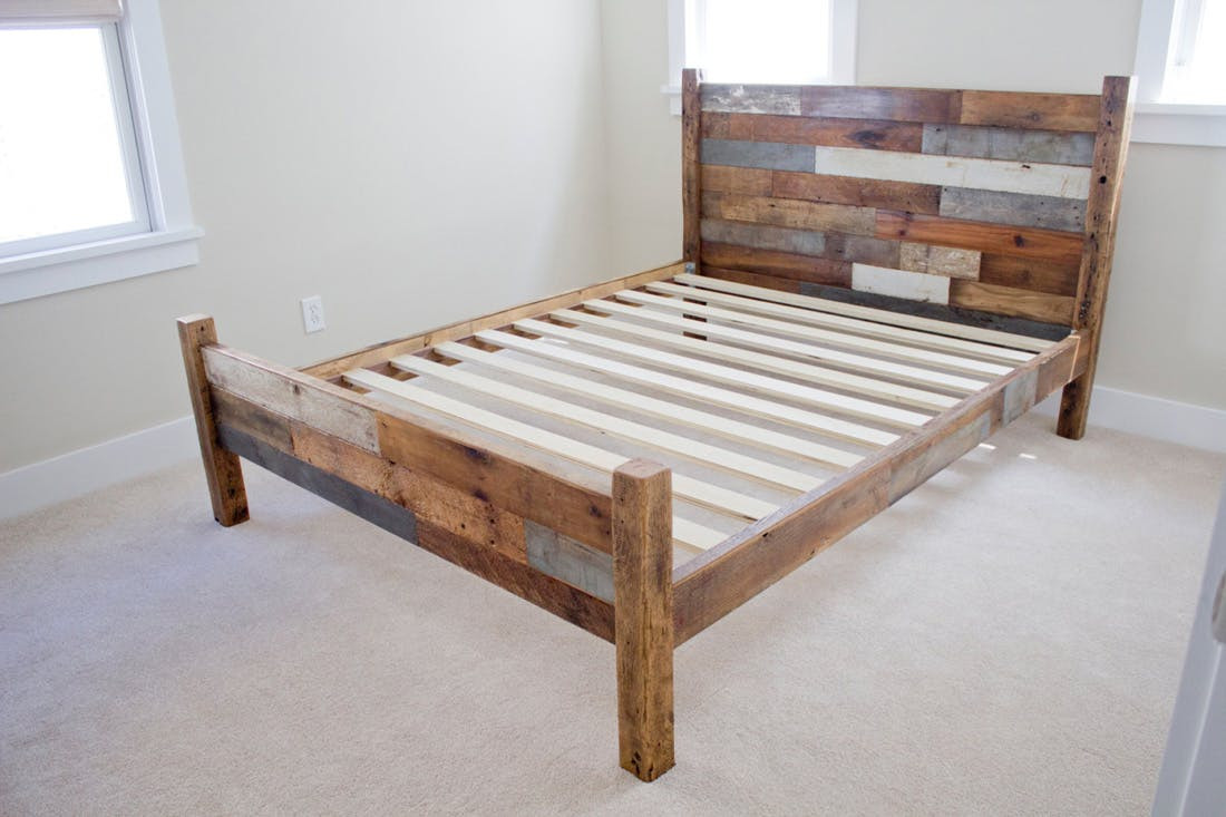 Best ideas about DIY Wood Bed . Save or Pin Sweet Dreams 10 Beautiful Bed Frames Now.