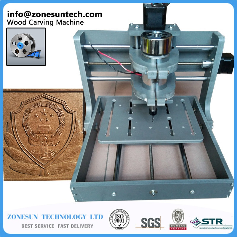 Best ideas about DIY Wood Cnc . Save or Pin PCB Milling Machine CNC 2020B DIY CNC Wood Carving Mini Now.