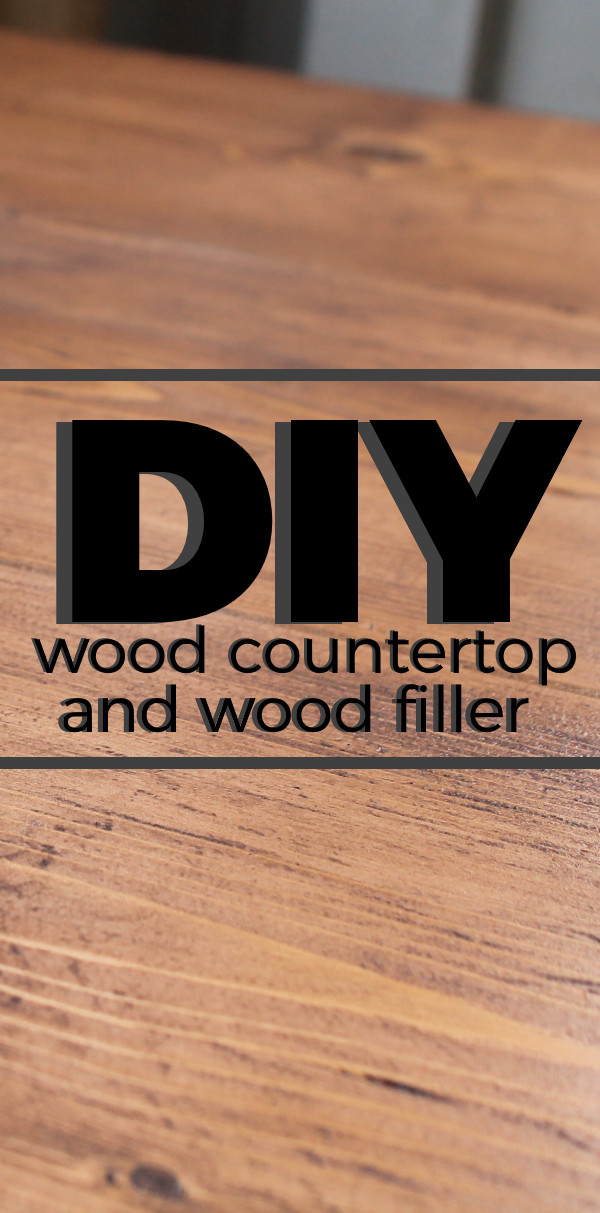 Best ideas about DIY Wood Fillers . Save or Pin DIY Wood Countertop and Wood Filler for the Kitchen Now.