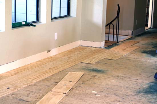 Best ideas about DIY Wood Floors Cheap . Save or Pin DIY Cheap Plywood Flooring Ideas for $100 in 7 Easy Steps Now.