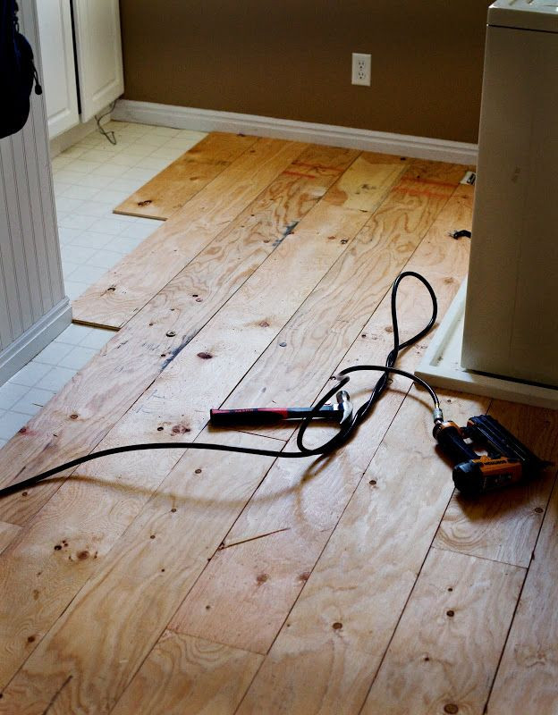 Best ideas about DIY Wood Floors Cheap . Save or Pin 25 best ideas about Plywood floors on Pinterest Now.