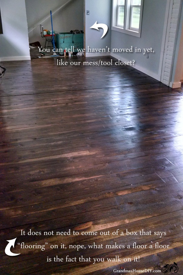 Best ideas about DIY Wood Floors Cheap . Save or Pin How to install an inexpensive wood floor do it yourself Now.